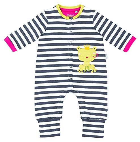Sigikid Baby-Mädchen-Overall-Strampler-Schlafanzug Schlafstrampler Mehrfarbig (Ebony 89), Herstellergröße: 74