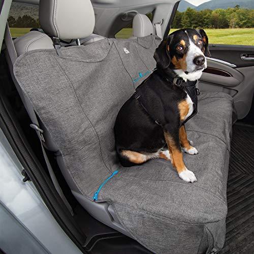 Kurgo Rutschfeste Grip Bench Cover, Pet Rückseite Sitzbezüge, Wasserdicht Rutschfeste Autositz Cover und Displayschutzfolie -