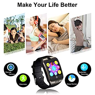 Smart watches with SIM card slot touch screen camera (White 2)