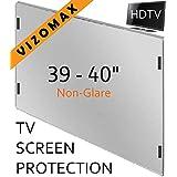 39-40 pouces Vizomax non-éblouissant Protecteur d'écran pour télévision pour LCD, LED at Plasma TV. Téléviseur Protège-écran