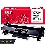 LEMERO Kompatibel TN-2420 TN2420 TN-2410 TN2410 XL Tonerkartusche [ohne Chip] Hohe Reichweite für Brother HL-L2310D HL-L2350DN HL-L2370DN HL-L2375DW DCP-L2510D DCP-L2530DW MFC-L2710DN MFC-L2730DW MFC-L2750DW Drucker , 3000 Seiten , Schwarz