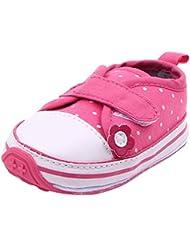 YOUJIA Bebé Niñas Zapatos De Lona Antideslizante Calzado De Primeros Pasos