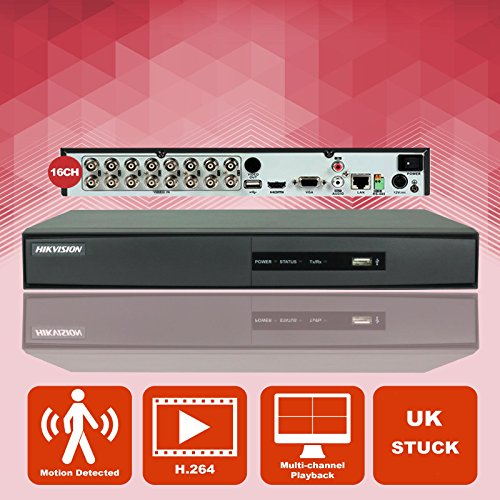 HIKVISION ds-7216hghi-sh Turbo HD 1080P 16Kanal Analog Plus hd-tvi CCTV Sicherheit Überwachung Digital Video Recorder (2 Video Digital Plus-dvr)