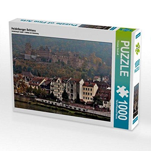 Heidelberger Schloss 1000 Teile Puzzle quer