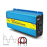Power Inverter 12v 220v Onda Pura 500w DC to AC Pure Sine Wave Trasformatore di Potenza Convertitore Invertitore di Porta USB Auto per Solar Home Camping