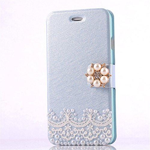 sibaina Apple iPhone 6Plus Coque Housse, luxe étui à rabat en cuir synthétique avec support téléphone portable pour Apple iPhone 6plus 6S Plus 14cm Écran