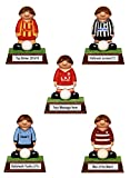 PERSONALISED Miniature Football Figure - hand painted in your own Amateur / Junior / Sunday League team's kit colours ! The ultimate football gift, present, award or trophy ! (Gift Boxed) Kerr Characters