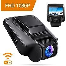 "APEMAN Dashcam WiFi Full HD 1080P Autokamera mit APP Sony IMX323 Sensor 2.45"" IPS Bildschirm 170° Weitwinkel G Sensor Super Nachtsicht Loop-Aufnahme"