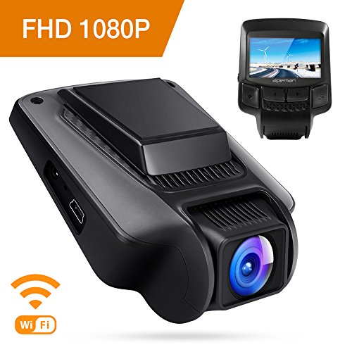 APEMAN Dashcam WiFi Full HD 1080P Auto Camera 2.45