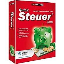 Lexware QuickSteuer 2018 Minibox / Einfache und schnelle Steuererklärungs-Software für Arbeitnehmer, Familien, Vermieter, Studenten und Rentner / Kompatibel mit Windows 7 oder aktueller