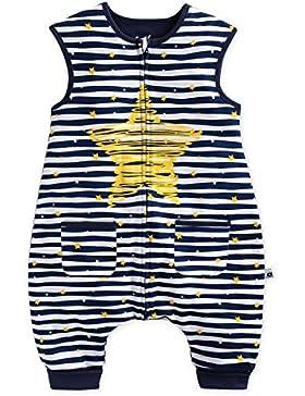 Vaenait baby 86-122 Kleinkinder Maedchen Jungen Unisex mit Beinen 100% Baumwolle Schlafsack Einteiler Spielanzug...
