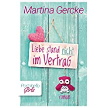 Liebe stand nicht im Vertrag (German Edition)