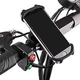 ZEELIY Handyhalterung Fahrrad Abnehmbare Handyhalter Fahrrad Handyhalterung Motorrad Universal 360° Drehbare Smartphone Halterung Fahrrad Kompatibel für Huawei, Samsung, iPhone Smartphone und GPS