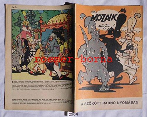 Bestell.Nr. 92984 Mozaik Mosaik von Hannes Hegen seltene Export Ausgabe für Ungarn Nr 1975/7 (entspricht Heft 213)