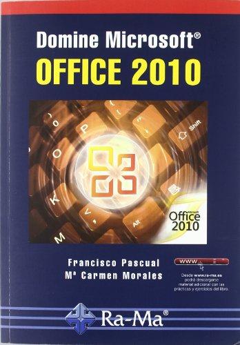 Domine Microsoft Office 2010 por María Carmen Morales Gómez
