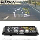 KKmoon 5.5 Zoll Auto HUD Head Up Anzeige OBD-II Diagnosewerkzeuge MPH Speeding Warning mit Bluetooth-Funktion zu Telefon PC anschließen