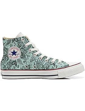 Converse All Star zapatos personalizadas Unisex (Producto Artesano) Elegant Paisley