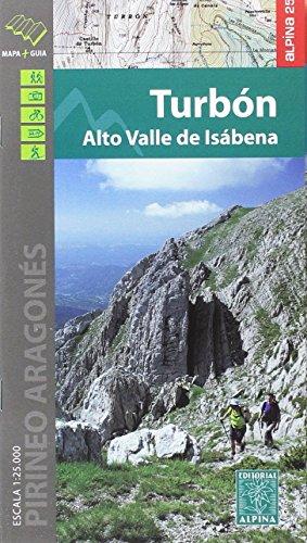 Turbón. Alto Valle de Isábena mapa excursionista. Escala 1:25.000. Editorial Alpina. por VV.AA.