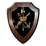 Wappenschild / Wandschild -Legión Española Spanische Legion Emblem Abzeichen Flagge Fremdenlegion Spanien Streitkräfte Andenken #9824
