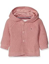 Tommy Hilfiger Textured Hooded Cardigan, Capucha para Bebés
