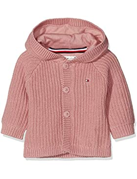 Tommy Hilfiger Unisex Kapuzenpullover Baby Textured Hooded Cardigan