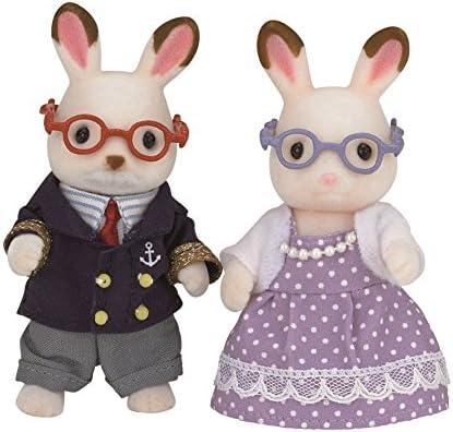 Sylvanian Rabbit Grandparents Families Grands-Parents au au au Lapin en Chocolat, 5190, Multicolore, Norme | Choix Des Matériaux  0f12e8