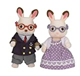 Sylvanian Families Chocolate Rabbit Grandparents Mini muñecas y...
