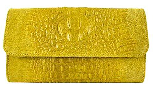G&G PELLETTERIA , Sac bandoulière pour femme jaune