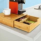 sobuy frg84 n bo te capsules de caf nespresso tiroir. Black Bedroom Furniture Sets. Home Design Ideas