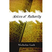 Voices of Authority: by Nicholas Langrishe Alleym Lash (2005-01-12)