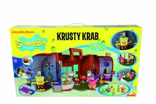 SIMBA Spongebob - Game suitcase, Mr. Crab design