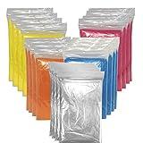 20 x Regenponcho mit Kapuze / XXL-Packung / wasserdicht / mehrere Farben - Notfallponcho - Regencape