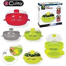 Recipiente Microondas Para Cocción al vapor Cocina Sana Pierre-cedric - Verde