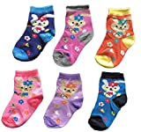 BabyMart Baby Boys Baby Girls High Quality Assorted Colors Socks Set (Pack of 6) (Multicolor, 9-12 Months)