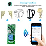 Slri SONOFF 1CH DC5V WiFi Switch Wireless Inching Selbstverriegelndes Intelligenter Relay-Modul