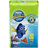 HUGGIES Pañales Little Swimmers Talla 3/4 (7 a 15 kg) - Paquete de 12 pañales