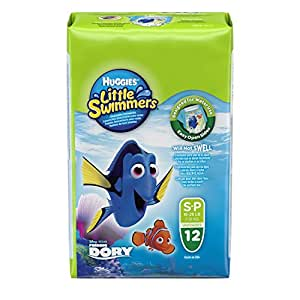 Huggies Little Swimmers Disposable Swim Diapers Small 12-Count