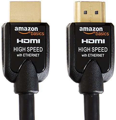 AmazonBasics Hochgeschwindigkeits-HDMI-Kabel (Ethernet, 3D, und Audio-Return) 2m - 2Stücke 3d-kabel