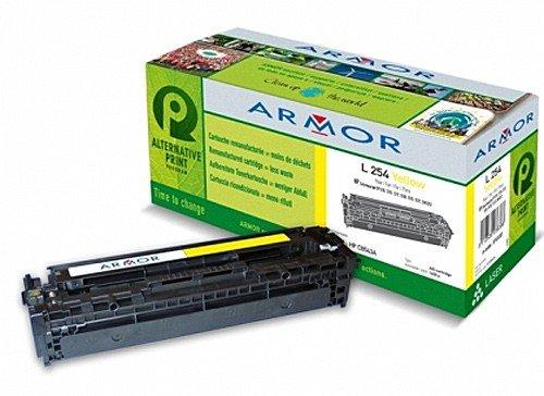 Für HP Color Laserjet CP 1215 - Yellow Farbtoner, Armor Colortoner Farblasertoner kompatibel, Toner für CP1215, 1400S. -
