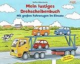 Mit großen Fahrzeugen im Einsatz: Mein lustiges Drehscheibenbuch