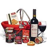 """ducs de gascogne - coffret gourmand """"chaperon rouge"""" - comprend 8 produits - spécial cadeau de noël"""