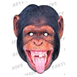 Rubie'S France - MCHIMP01 - Masque Carton chimpanze