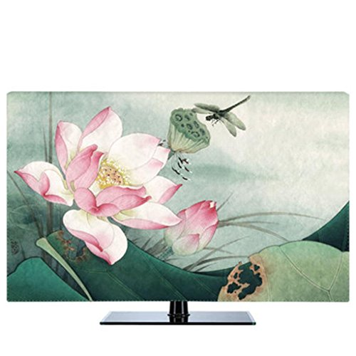 TV Cover Dust Cover 32 55 65 Inches Liquid Crystal Cover Cloth Hanging TV Cover   65 inches   f