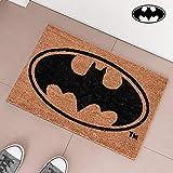 Eurowebb Paillasson Tapis d'entrée au Logo de Batman