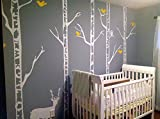 PopDecors - Trees Wall Decal Nursery Dee...
