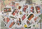 Prophila Collection Motive 50 Verschiedene Feuerwehr Marken (Briefmarken für Sammler) Feuerwehr / Polizei