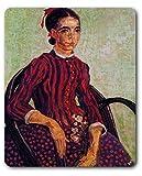 1art1 88918 Vincent Van Gogh - La Mousmé Im Lehnstuhl, 1888 Mauspad 23 x 19 cm