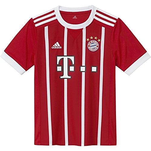adidas FC Bayern Munich Home Youth Jersey [FCBTRU] (S) -