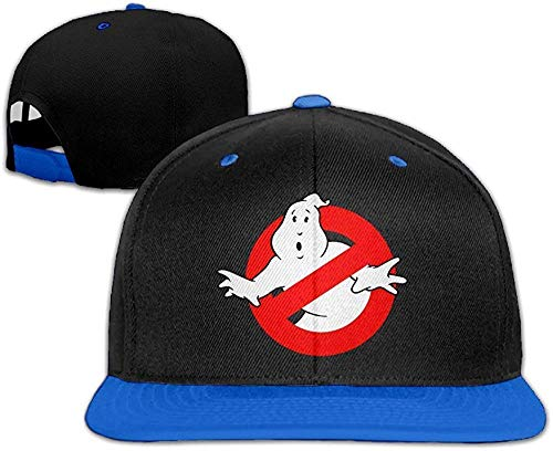 Hittings Ghost Busters Logo Hip Hop Bucket Hat Plain Snapback Cap Royalblue