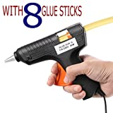 #4: 40 Watts Glue Gun Combo With 8 Glue Sticks